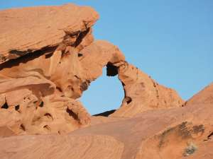 Arch Rock im Valley of Fire State Park Nevada